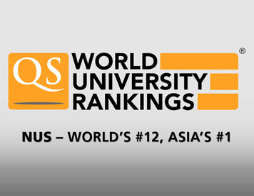 NUS is 12th in the world