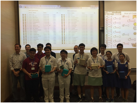 Winners of Ace of Coders 2018: From 1200 to the final 12