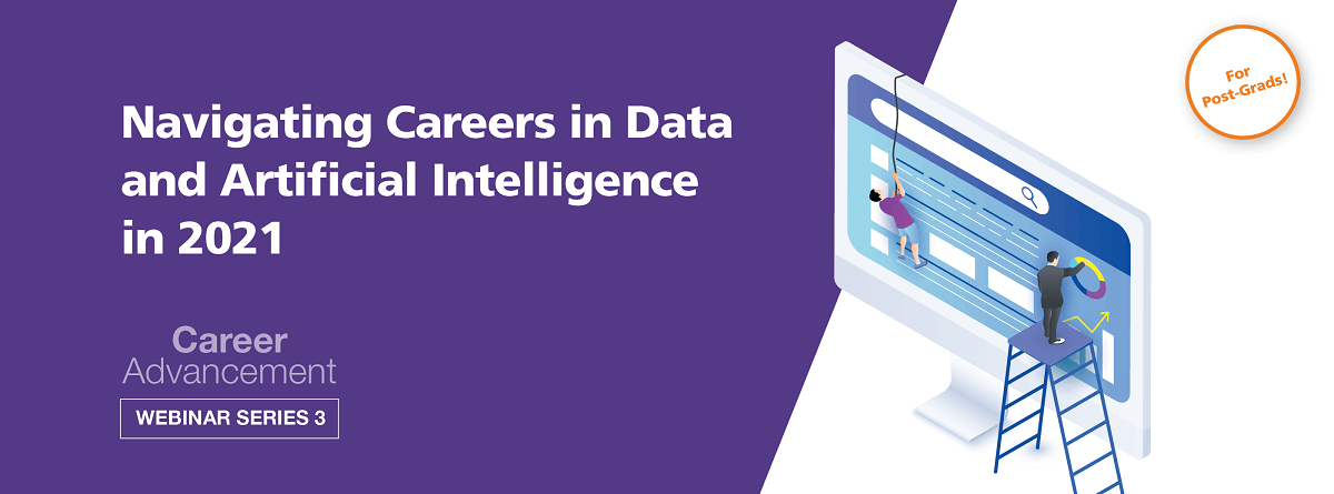 Navigating Careers in Data and AI in 2021 EDM image