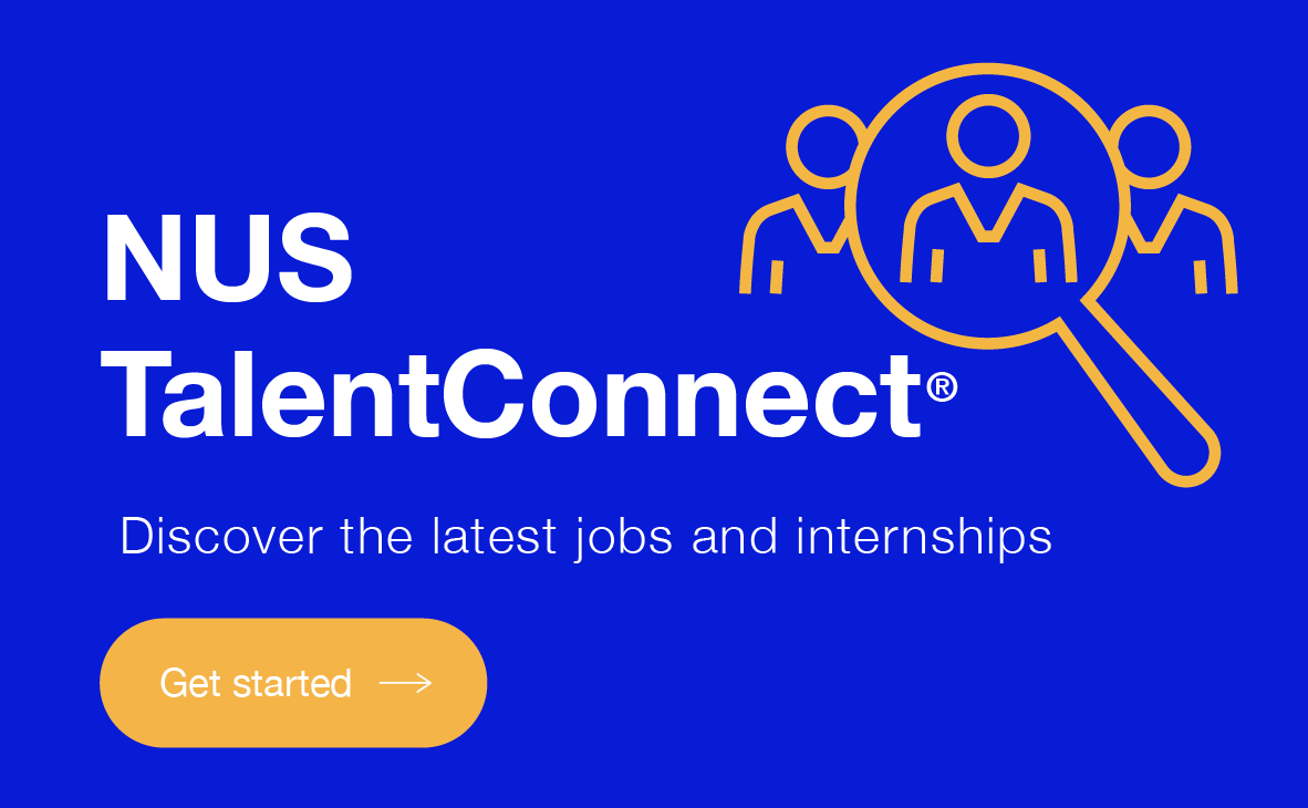 Employment Opportunities - NUS Talent Connect Image