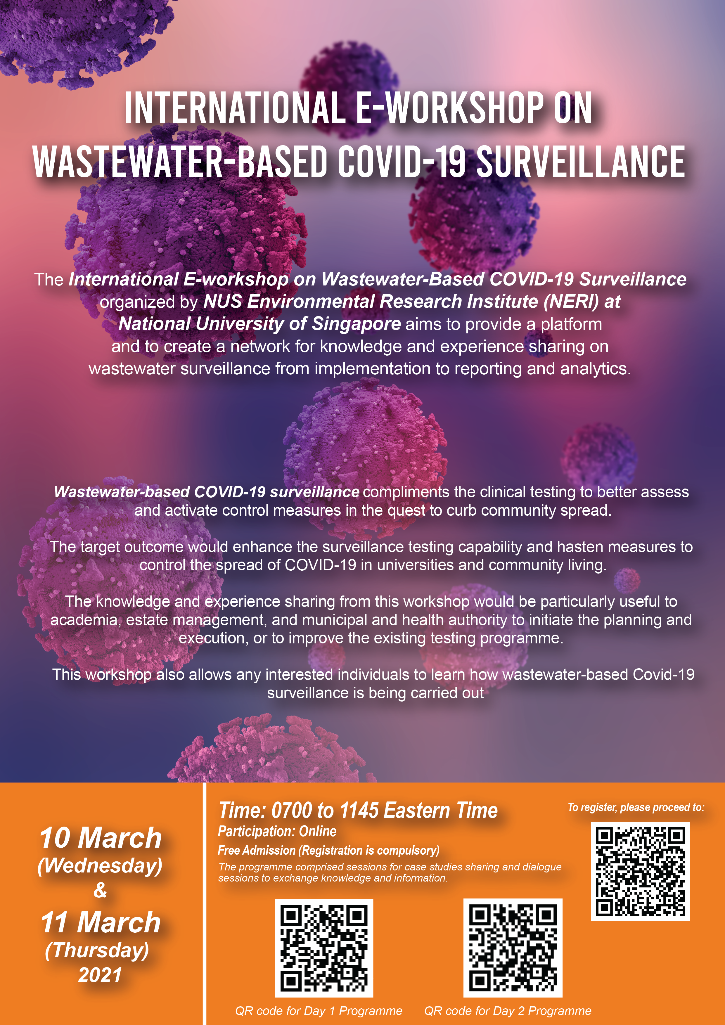 Wastewater based COVID19 Poster