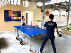 Table tennis corner
